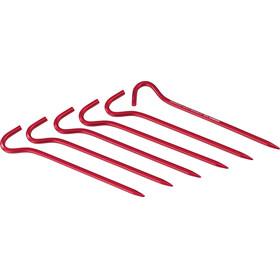 MSR Hook - Accessoire tente - rouge
